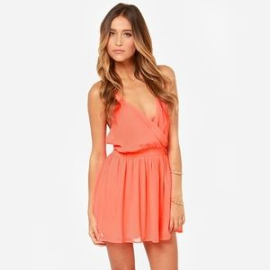 Lulus Exclusive bright kind of love neon pink dres